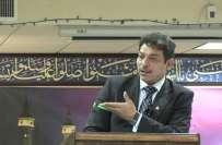 داعش کی سرپرستی امریکہ کر رہا ہے: فیصل رضا عابدی