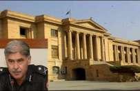 سندھ ہائی کورٹ نے توہین عدالت کیس میں آئی جی سندھ سمیت دیگر پولیس افسروں ..