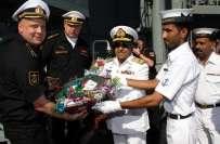 بحیرہ عرب میں پاک روس بحری مشقوں کے آغاز کی تیاریاں شروع