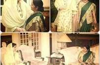 بھارتی وزیر خارجہ سشما سورا ج کی مریم نواز کے ساتھ ملاقات، باہمی دلچسپی ..