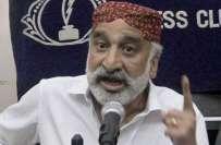 سابق وزیر داخلہ سندھ ذوالفقار مرزا نے رینجرز کی حمایت میں کل سے تحریک ..