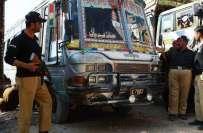 کوئٹہ،پولیس اور کسٹم حکام کی کاروائی ،کے، زائرین کے بسوں سے سمگل شدہ ..