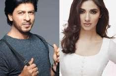 شاہ رخ خان بھی پاکستانی اداکارہ ماہرہ خان کے مداح نکلے