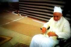 وزیراعظم کی طرف سے مولانا عبدالوہاب کو گلدستہ پیش