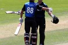 نیوزی لینڈ نے پانچویں ایک روزہ کرکٹ میچ میں سری لنکا کو 108 رنز سے شکست ..
