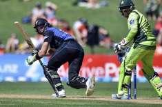 نیوزی لینڈ پاکستان کو 370رنز کا ہدف دیدیا
