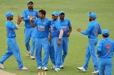 بھارتی کرکٹ ٹیم کا باؤلنگ اٹیک بھی لڑکھڑانے لگا ' ایشانت شرما اور بھونیشور ..