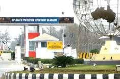 سی ڈی اے کا غیر ملکی سفارتخانوں کو سکیورٹی کے نام پر رکاوٹیں اور تجاوزات ..
