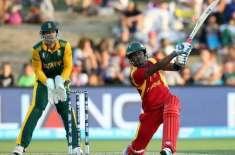 ورلڈ کپ 2015ء :جنوبی افریقہ نے زمبابوے کو 62سے مات دیدی