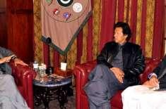 پاکستان تحریک انصاف کے سرابراہ عمران خان کا پشاور پہنچنے پر گورنر خیبرپختونخوا ..