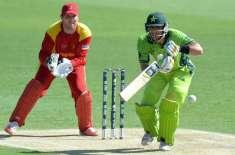 ورلڈکپ 2015ء، زمبابوے کے خلاف پاکستان کے 177رنز پر 6 وکٹیں گر گئیں