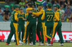 ورلڈ کپ2015ء :جنوبی افریقہ نے آئر لینڈ کو 201رنز سے شکست دیدی