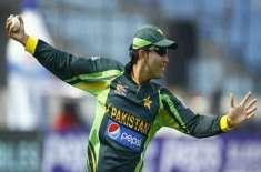 پاکستان بمقابلہ یواے ای ، صہیب مقصود نے 'تاریخی' وکٹ لے لی