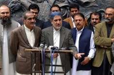 بلوچستان کے مسائل کے حل کیلئے حقیقی نمائندوں کوسینٹ میں بھیجاجائے ..