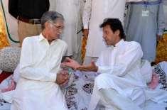سنیٹ انتخاب میں تحریک انصاف نے ن لیگ کو ووٹ دیئے، پرویز خٹک کا اعتراف