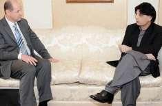 برطانوی ہائی کمشنر کی چودھری نثار سے ملاقات، اہم امور پر گفتگو