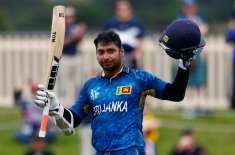 ورلڈ کپ 2015ء : سری لنکا کے کمار سنگاکار گروپ سٹیج کے کامیاب ترین بلے باز ..