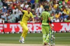 ورلڈ کپ 2015ء ،تیسرے کوارٹرفائنل میں پاکستان کا آسٹریلیا کو جیت کے لیے ..