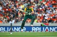 ورلڈ کپ 2015ء : جنوبی افریقہ کا نیوزی لینڈ کو جیت کے لیے 298رنز کا ہدف