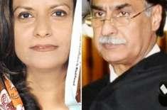 قومی اسمبلی میں سپیکر ایاز صادق اور نفیسہ شاہ کے درمیان قواعد کی تشریح ..