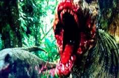 """فلم جراسک پارک سلسلے کی چوتھی فلم' 'جراسک ورلڈ"""" کا نیا سنسنی خیز ٹریلر .."""