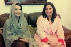 ریحام پاکستانی فلم انڈسڑی کو سہار ادینے کیلئے فلمیں بنانا چاہتی ہیں، ..