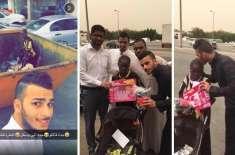 عرب نوجوان کی سیلفی نے غریب بچی کے دن پھیر دیئے