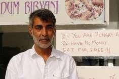 عرب ملک میں قائم ریسٹورنٹ جہاں پریشان غیر ملکی مفت کھانا کھا سکتے ہیں