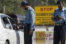 وزیر داخلہ نے ایس پی ڈپلومیٹک کے ناکہ پر تعینات پولیس اہلکاروں کو غیر ..