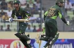 دوسرا ون ڈ ے ، پاکستان نے بنگلہ دیش کو جیت کے لیے 240رنز کا ہدف دیدیا