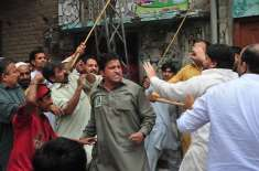 کنٹونمنٹ انتخابات،عوامی تحریک کی موٹر سائیکل ریلی سینکڑوں کارکنان ..