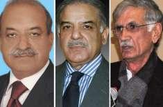 وزیراعلی شہبازشریف کا خیبرپختونخوا کے گورنر اور وزیراعلی کو فون ،پشاور ..
