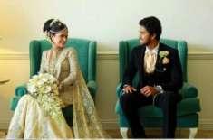 دنیش چندی مل رشتہ ازدواج سے منسلک ہوگئے