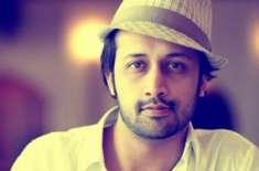پاکستانی گلوکارعاطف اسلم بھارتی فلم میں اداکاری کے جوہر دکھائیں گے