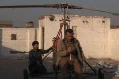 پشاور کے رہائشی نے ہیلی کاپٹر بنا ڈالا