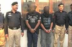 لاہور پولیس کا مختلف کارروائیوں میں 6ٹارگٹ کلر گرفتار کرنے کا دعویٰ
