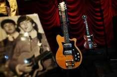 موسیقار ہیریسن کا گٹار چا رلاکھ نوے ہزار ڈالر میں فروخت