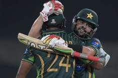 پہلا ٹی ٹونٹی ، پاکستان نے زمبابوے کو 5 وکٹوں سے شکست دیدی