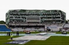 انگلینڈ اورنیوزی لینڈ کے مابین دوسرا ٹیسٹ بارش کے باعث تاخیر کا شکار