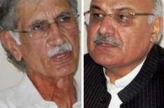 وزیر اعلیٰ پرویز خٹک نے افتخار حسین کی گرفتاری کا نوٹس لے لیا،آئی جی ..