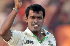 بھارت کیخلاف واحد ٹیسٹ : بنگلہ دیشی ٹیم نے روبیل حسین کو واپس طلب کرلیا