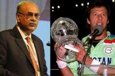 نجم سیٹھی نے عمران خان پی سی بی کا چئیرمین بنانے کی پیش کش کردی