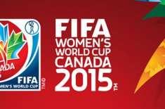 ساتواں فیفا ویمنز ورلڈ کپ فٹ بال ٹورنامنٹ ہفتے سے کینیڈا میں شروع ہوگا
