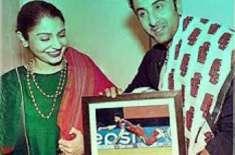 رنبیر کپور نے انوشکا شرما کو ویرات کوہلی کی تصویر فریم کروا کر تحفہ ..