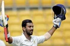 بھارتی بلے باز لوکیش راہول ڈینگی کے باعث بنگلہ دیش کے خلاف واحد ٹیسٹ ..