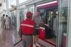 میٹرو بس سروس میں سفر کے بعدڈنمارک کے سفیر کی پاکستانیوں سے اپیل