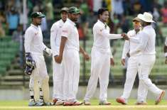 فتح اللہ ٹیسٹ، بھارت نے تیسرے دن کھیل کے اختتام پر 6وکٹوں پر 462رنز بنا ..