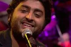 بالی وڈ گلوکار ارجیت سنگھ ممبئی میں لائیو پرفارمنس دیں گے