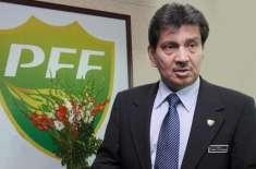 فلسطین اور بنگلادیش فٹبال ٹیموں کو بلانے کیلئے تیار ہیں 'فیصل صالح ..