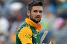 آئی سی سی قوانین کی خلاف ورزی ، جنوبی افریقہ کھلاڑی پر 50فیصد میچ فیس ..